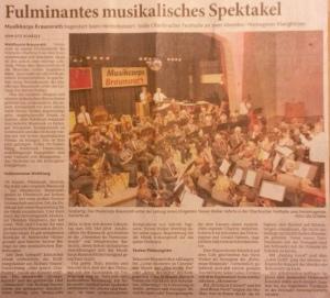 Fulminates musikalisches Spektakel