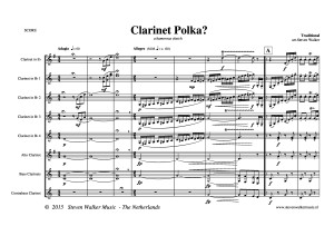 Clarinet Polka - DEMO SCORE
