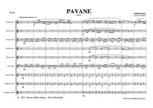 Pavane ( Gabriel Fauré ) - DEMO SCORE